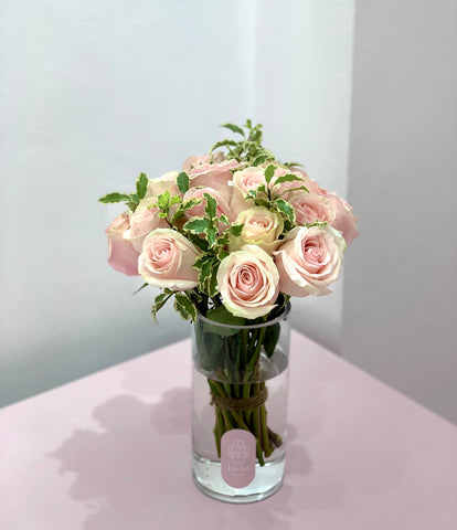 light pink arrangement