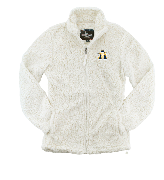 Aquinas Women's Full Zip Sherpa