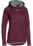 UA WOMENS DBL THREAT HOODY