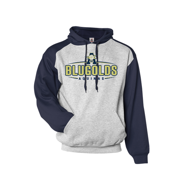Aquinas 2-Color Hooded Sweatshirt