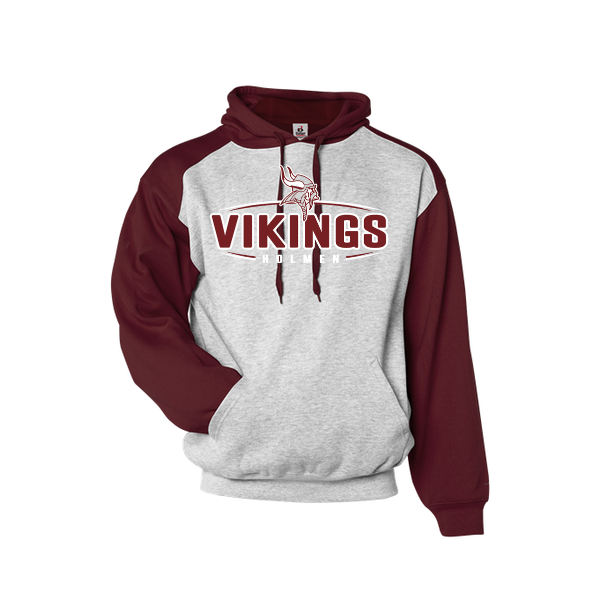 Holmen Youth 2-Color Hooded Sweatshirt