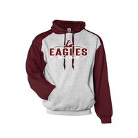 UW-La Crosse 2-Color Hooded Sweatshirt