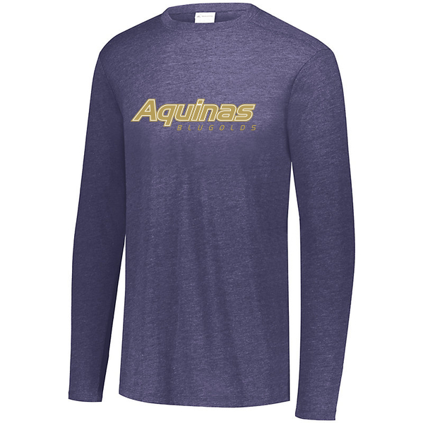 Aquinas Youth Triblend Long Sleeve