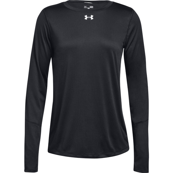 UA WOMENS LS LOCKER T