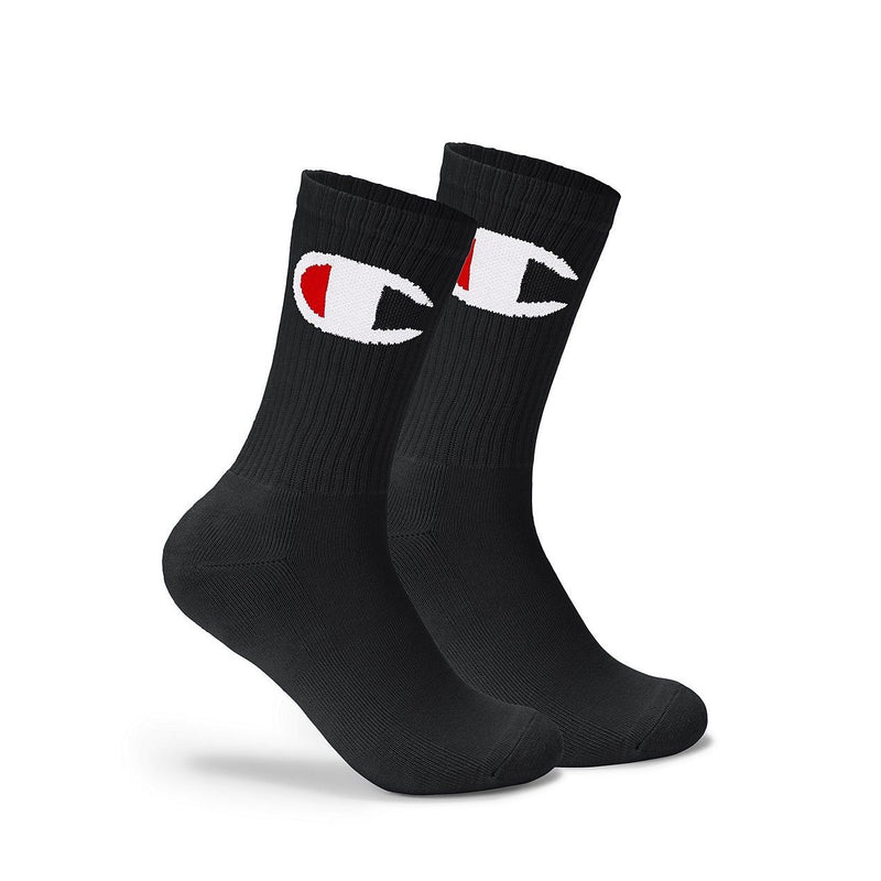 Black C-Life Big C Crew Socks