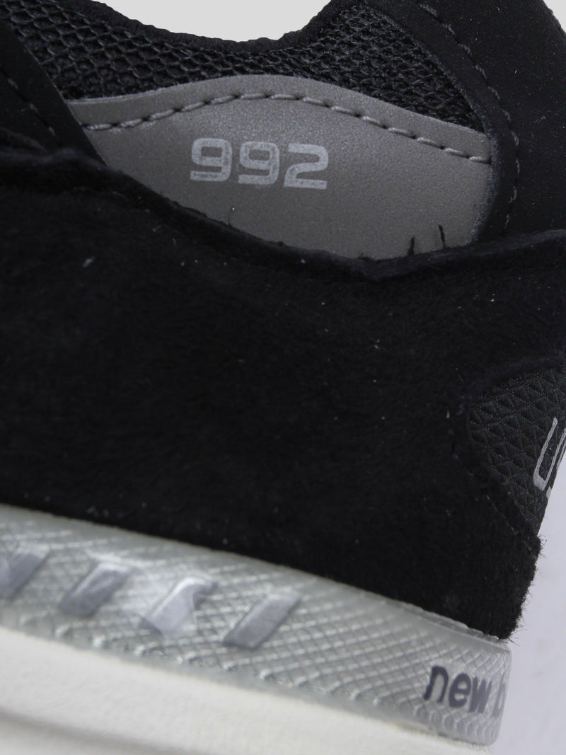 Black & Grey M992BL Sneakers