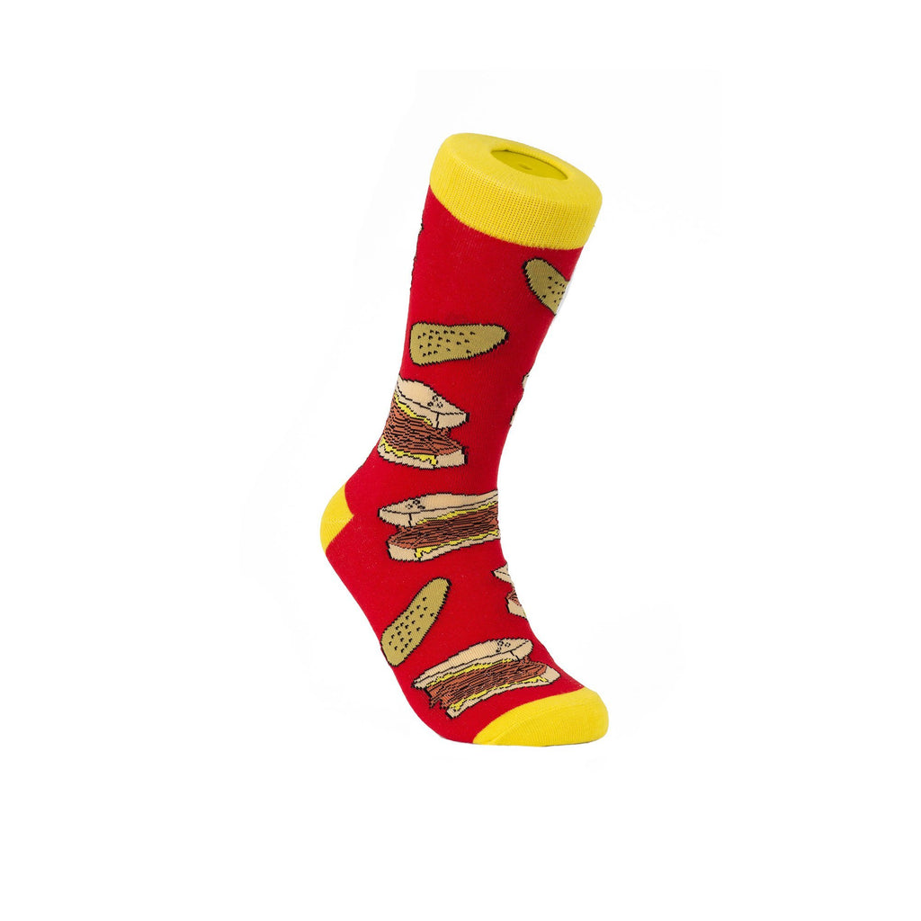 Multi Montreal Smoked Meat and Pickle Socks