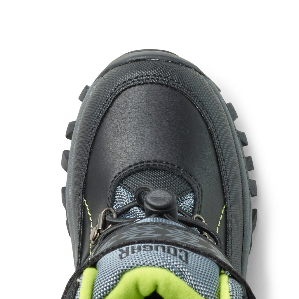Black & Lime Youth Tackle 2 Pull On Boots
