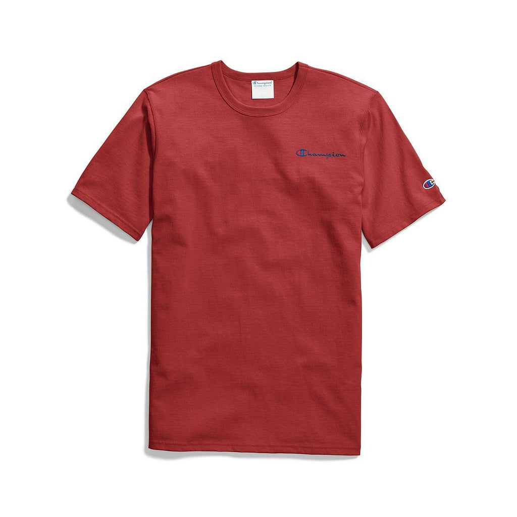 Red Heritage Elevated Graphics Script T-Shirt