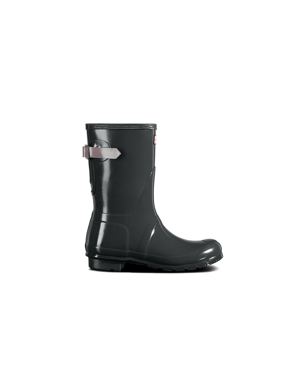 Black Original Back Adjustable Short Boots