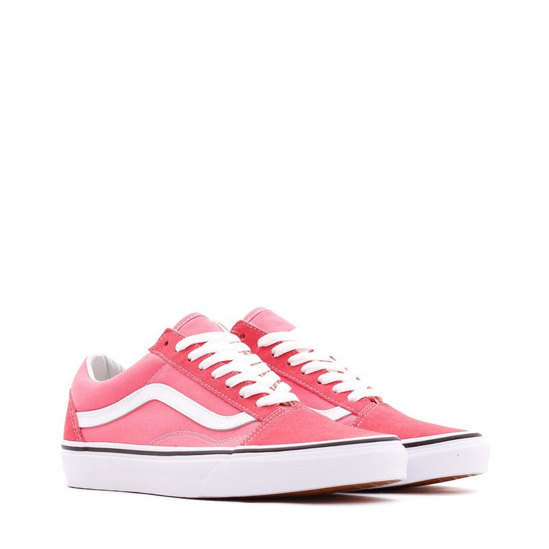 Pink & White Old Skool Shoes