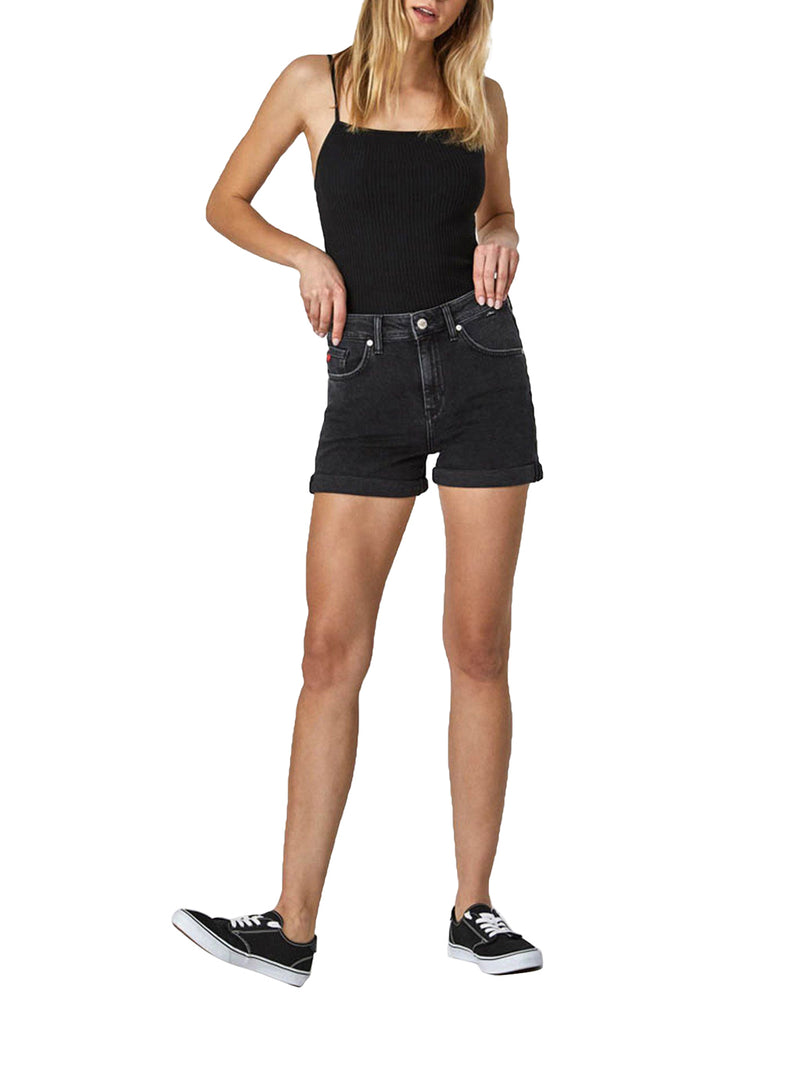 Black Ella Dark Shorts