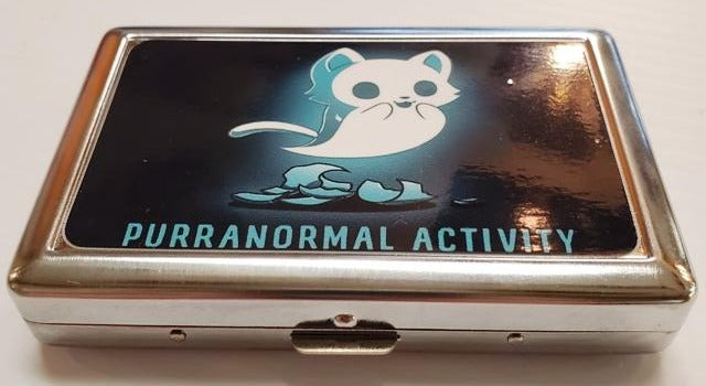 RFID Credit Card Case - Purranormal Activity
