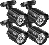 4 Camera Imitation Bullet Wireless Security System (Indoor / Outdoor)