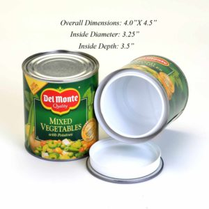 Diversion Safe - Del Monte Mixed Vegetables