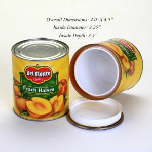 Diversion Safe - Del Monte Peach Halves