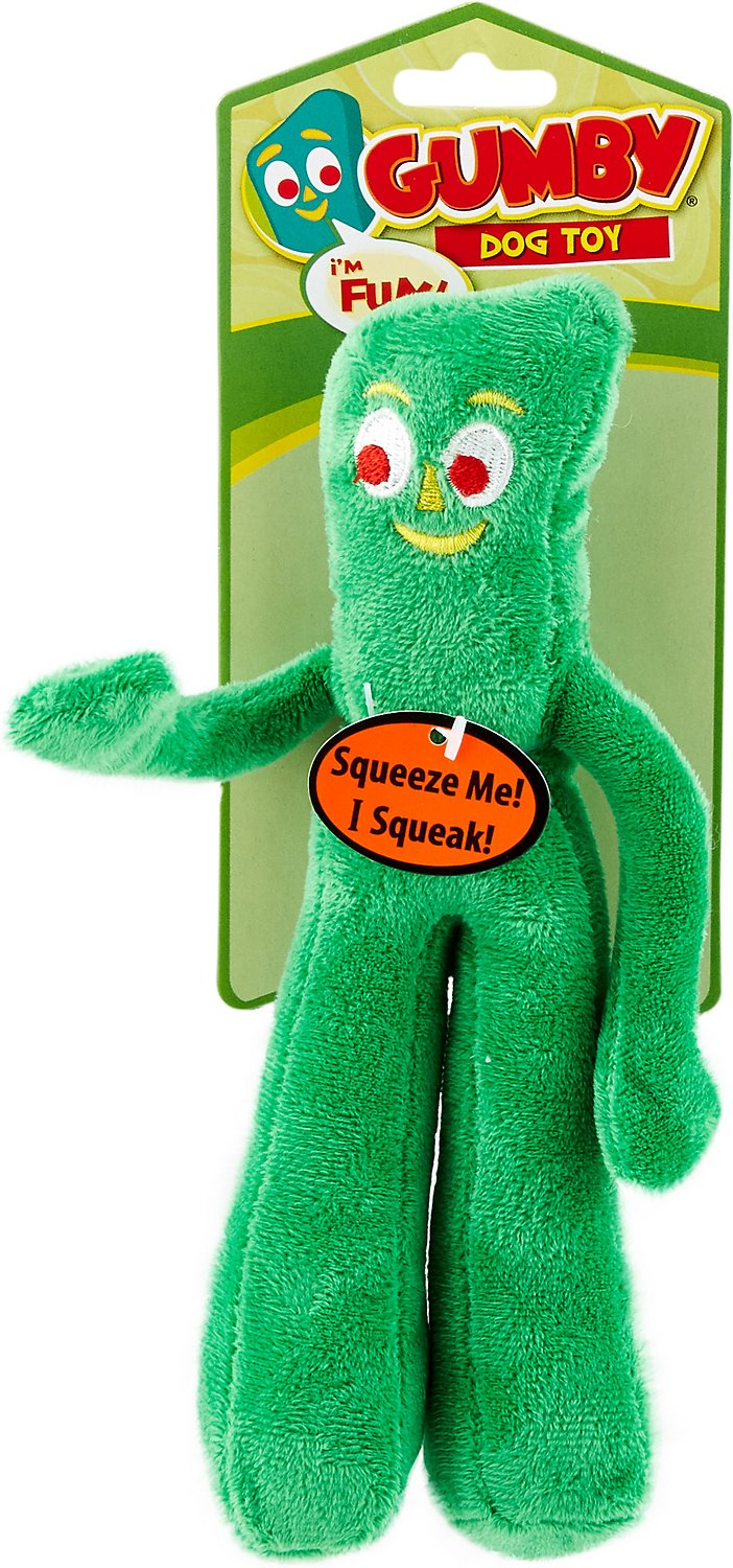 Gumby Stuffed Squeaker Toy