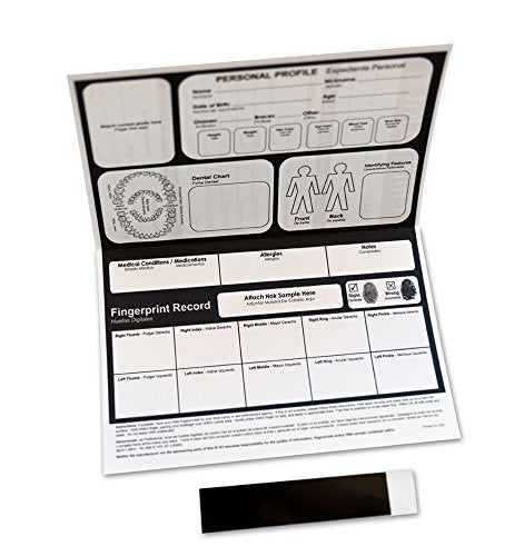 Child ID Fingerprint Kit