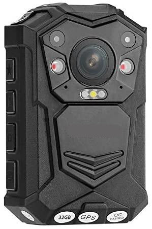 Law Enforcement / Security Body Worn Camera (with historical GPS video tagging)