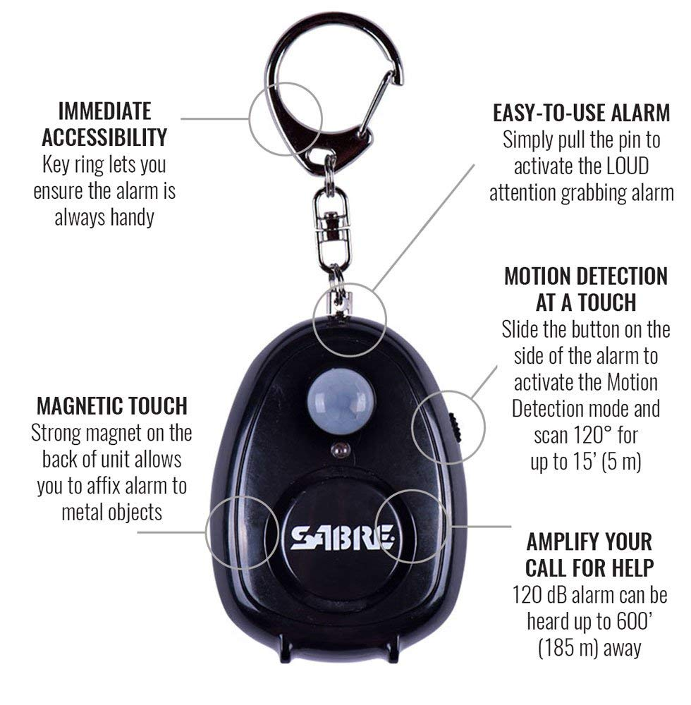Personal Alarm with Motion Detector