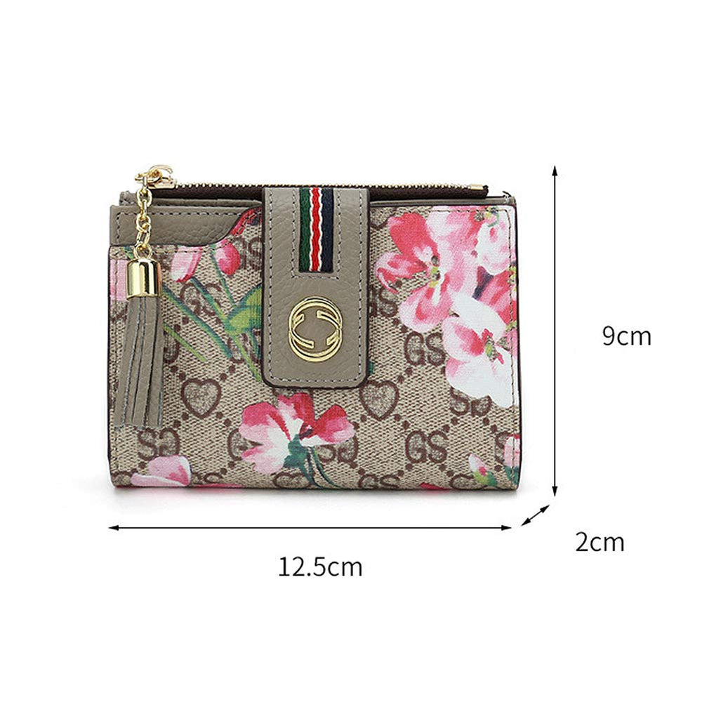 RFID Floral Wallet for Women