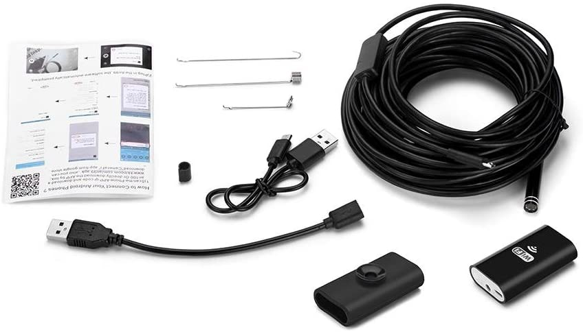 Android / Apple Wi-Fi Endoscope Camera