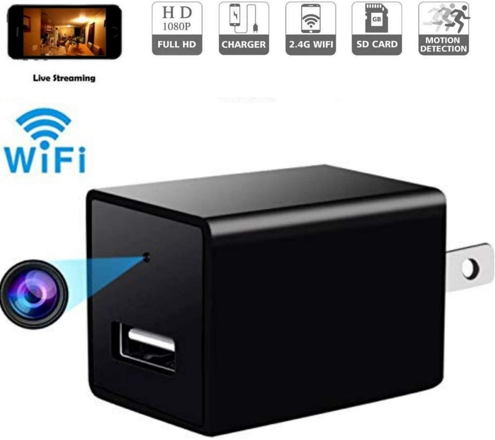 WiFi P2P Universal Phone Charger Covert Camera