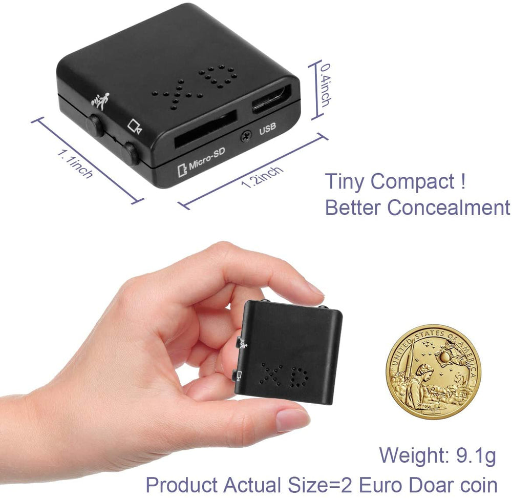 Concealable HD Mini Camera / DVR (w/ Night Vision)