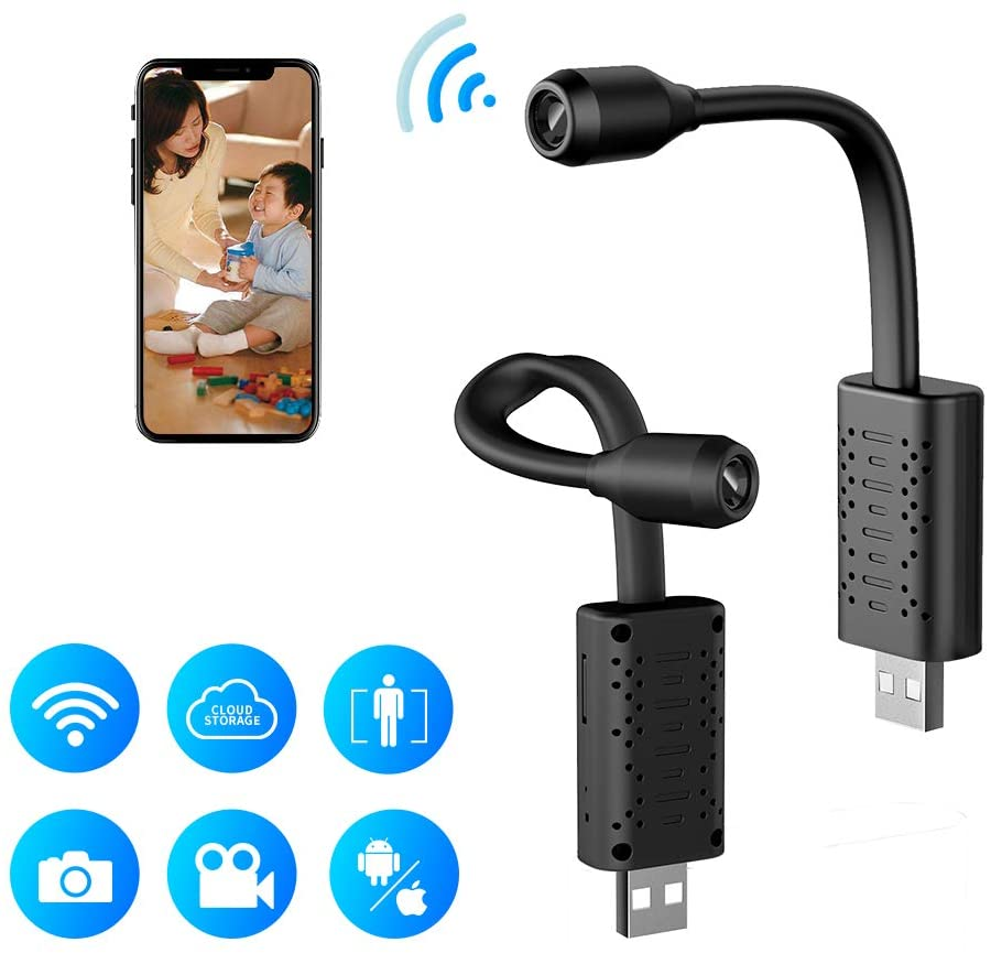 Flexible Mini WiFi Camera / DVR (w/ Motion Detection)