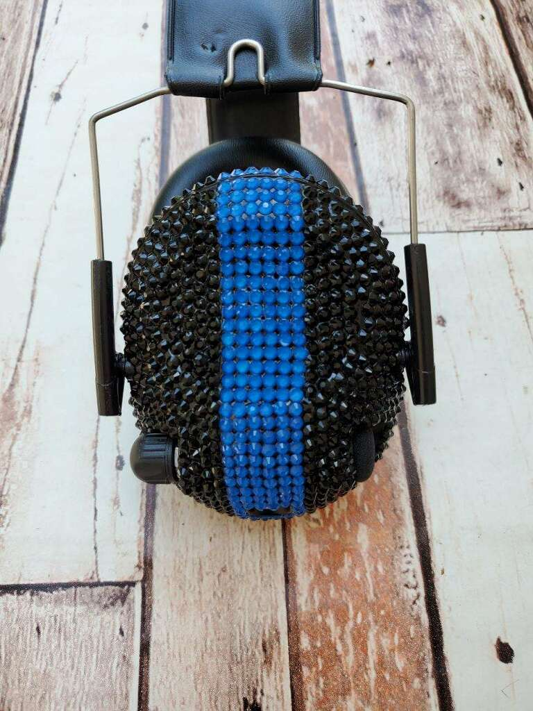 Blue Line Electronic Shooting Ear Muffs