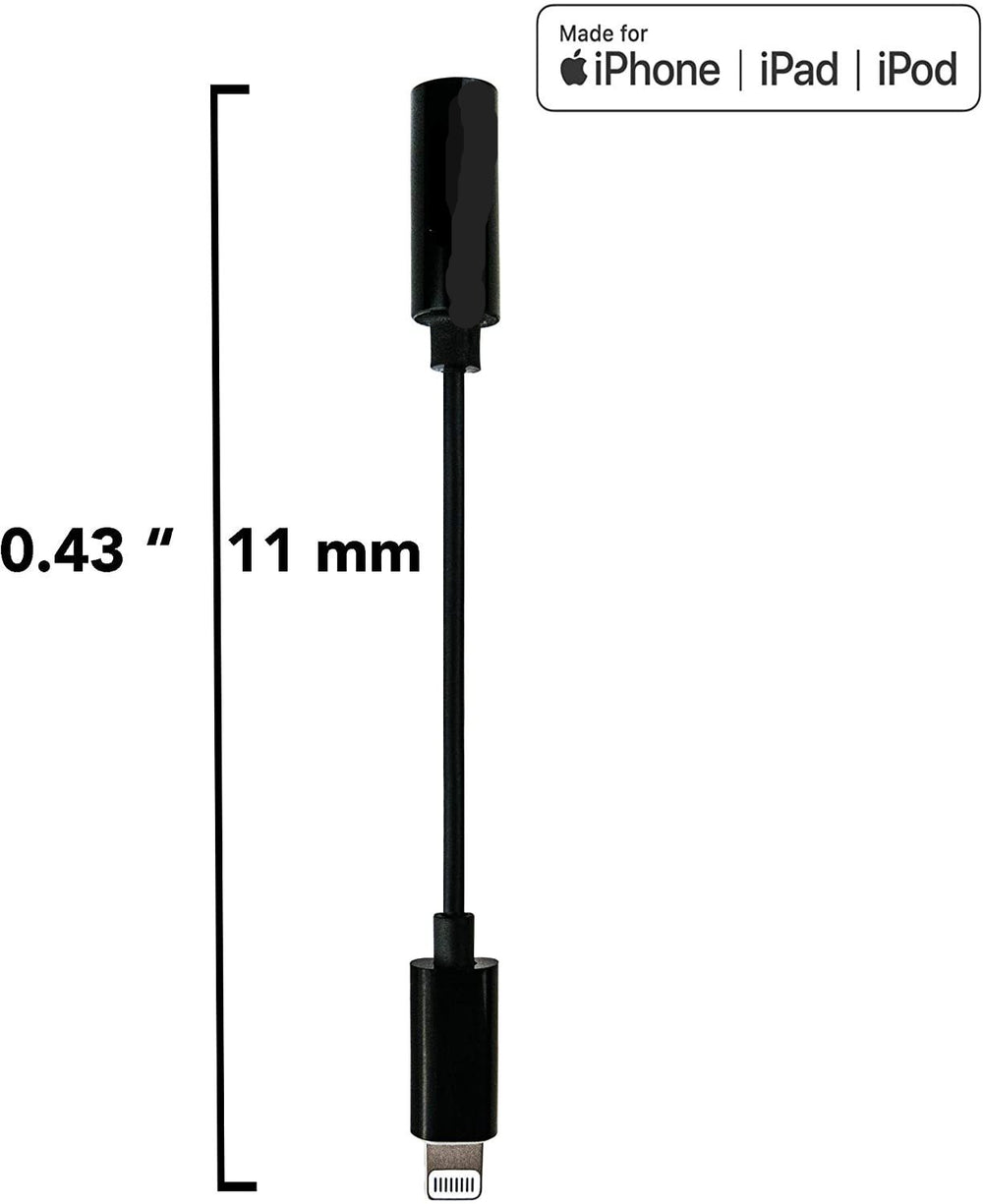 iPhone / iPad / iPod Mic Disabler (with headphone jack)