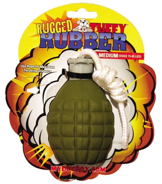 Grenade - Rugged Rubber Dog Toy