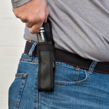 Stun Gun + Flashlight with Belt Holder