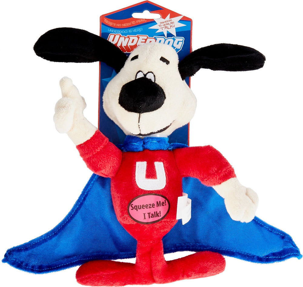 Underdog Stuffed Squeaker Toy