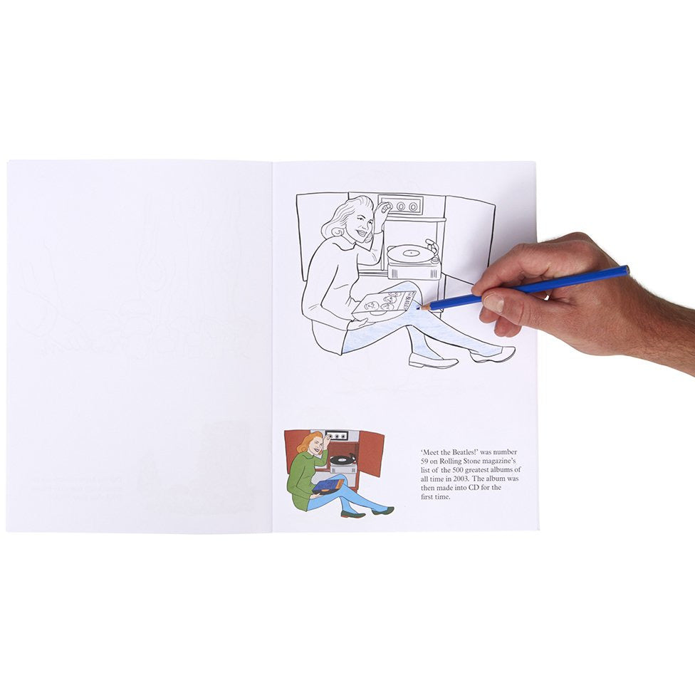 Art  Colouring In Book - Life In Colours