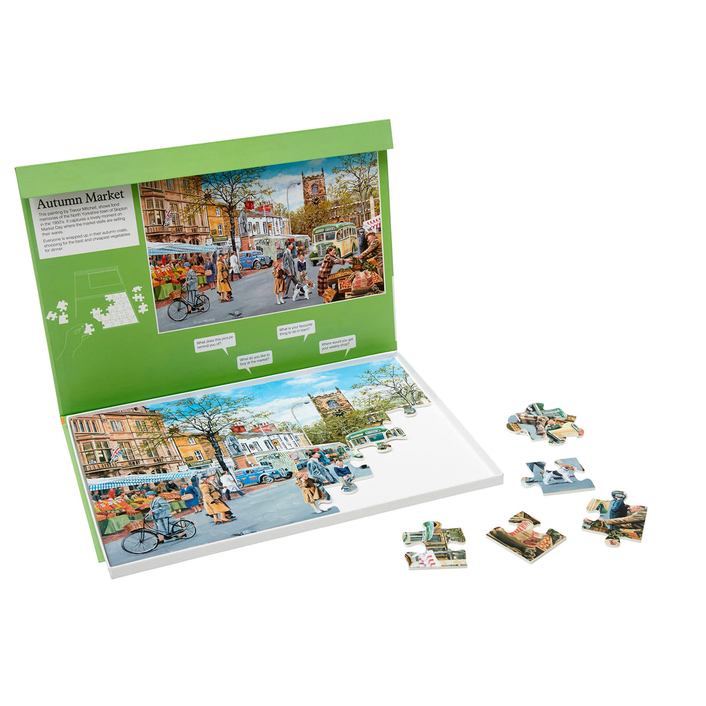 Jigsaw Puzzle 35 Piece - Autumn Market