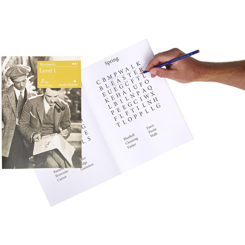 Word Search for Dementia - Large Print