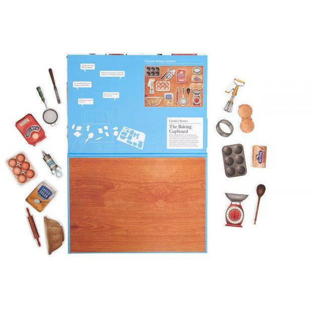 Magnetic Creative Scene - The Baking Cupboard