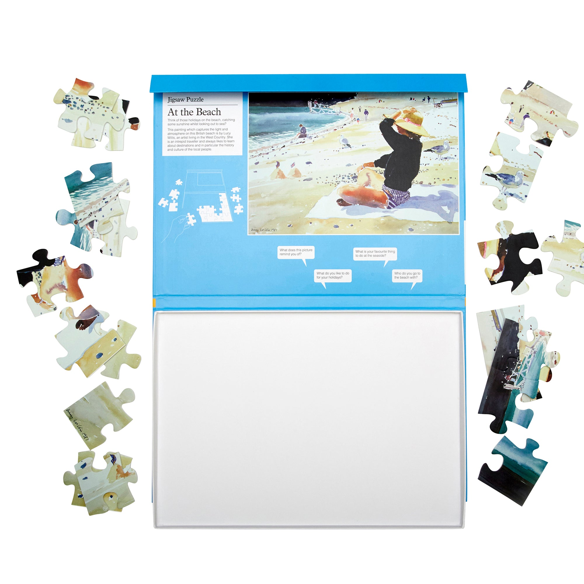 Jigsaw Puzzle 24 Piece- At the Beach