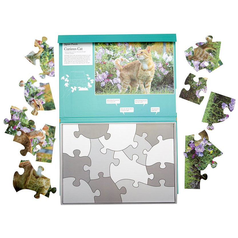 Jigsaw Puzzle 13 Piece - Curious Cat