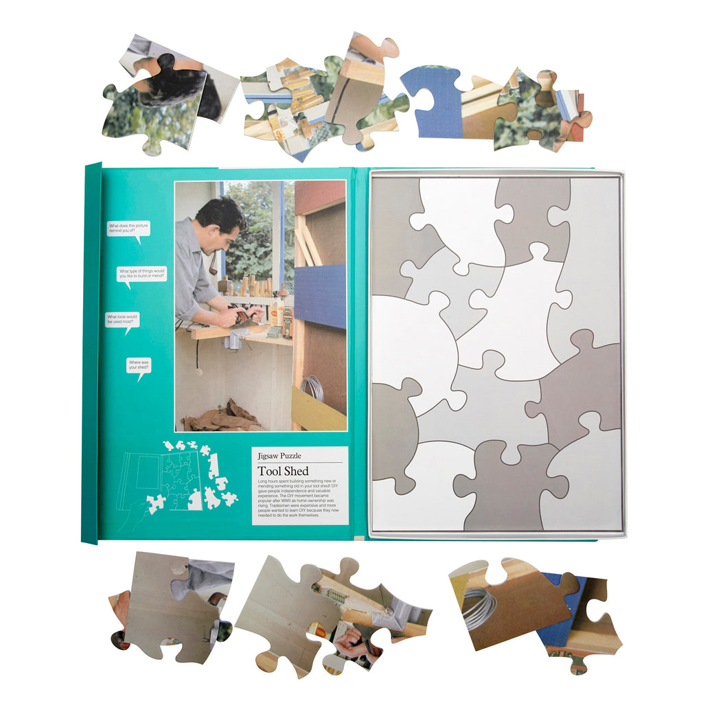 Jigsaw Puzzle 13 Piece- Tool Shed