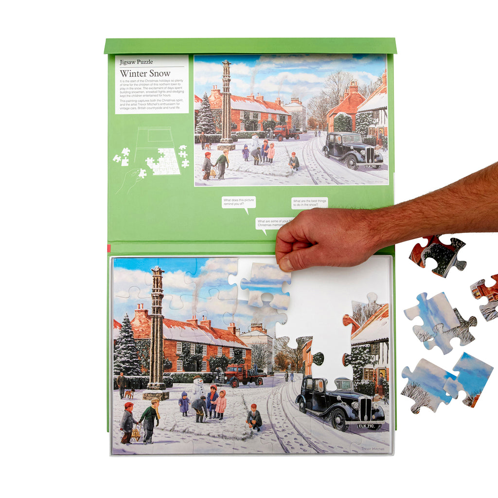 Jigsaw Puzzle 35 Piece - Winter Snow