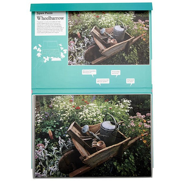Jigsaw Puzzle 13 Piece - Wheelbarrow