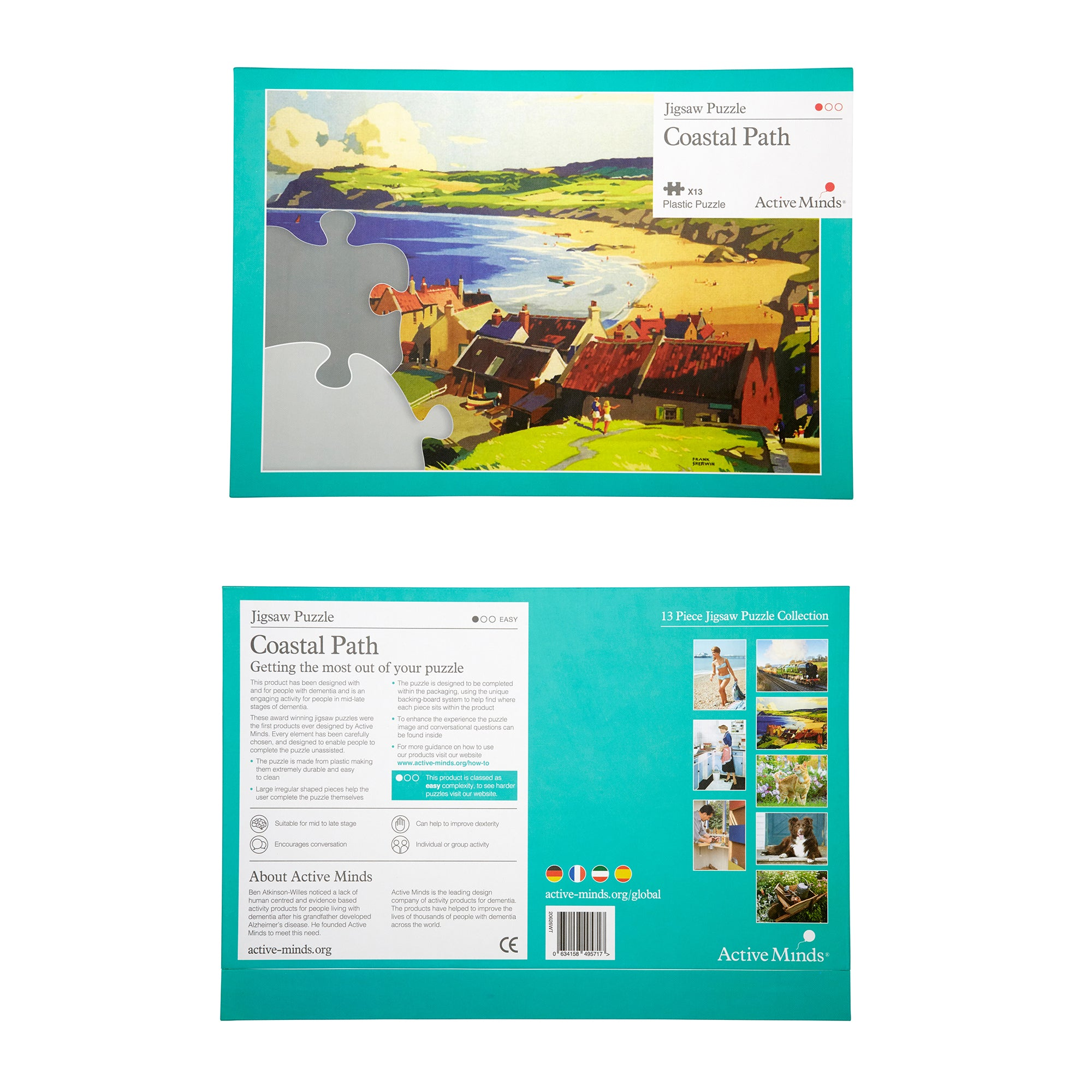 Jigsaw Puzzle NEW - Coastal Path