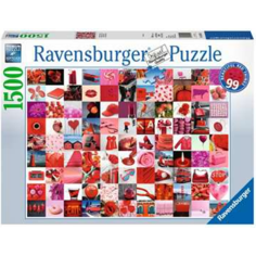 Jigsaw Puzzle 1500 Piece - 99 Beautiful Red Things