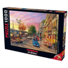 Jigsaw Puzzle 1000 Piece - Seine Sunset