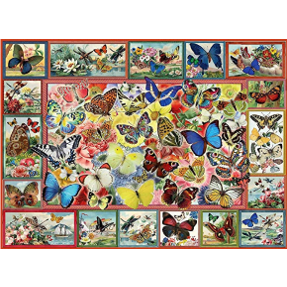Jigsaw Puzzle 1000 Piece - Lots of Butterflies