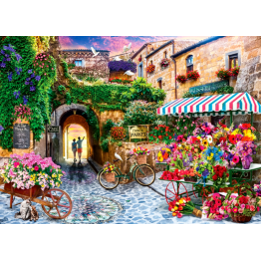 Jigsaw Puzzle 1000 Piece - The Flower Market