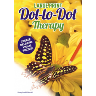 Large Print Dot to Dot Therapy