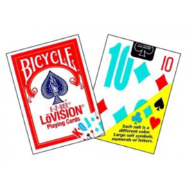 Playing Cards - Low Vision (Bicycle Brand)